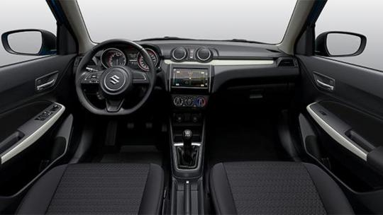 interieur GL+ Swift