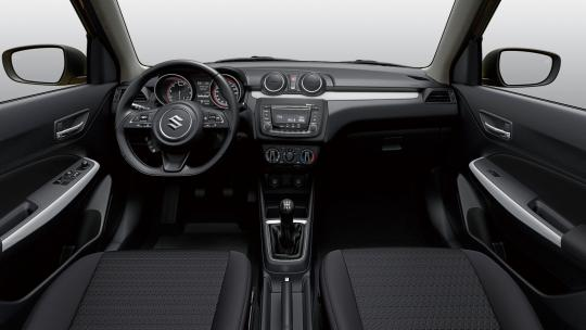 Interieur GL Swift