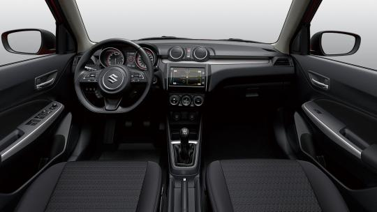 GLX Swift interieur