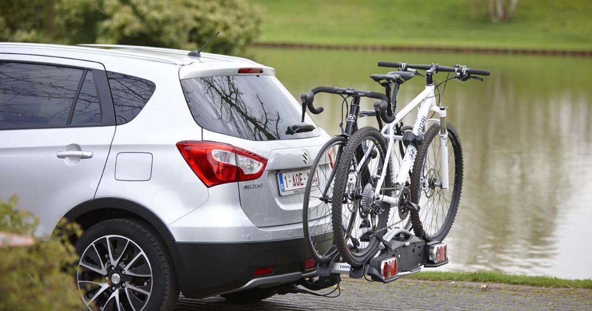 Een fietsenrek op je auto? Dit zijn de mogelijkheden!  Suzuki