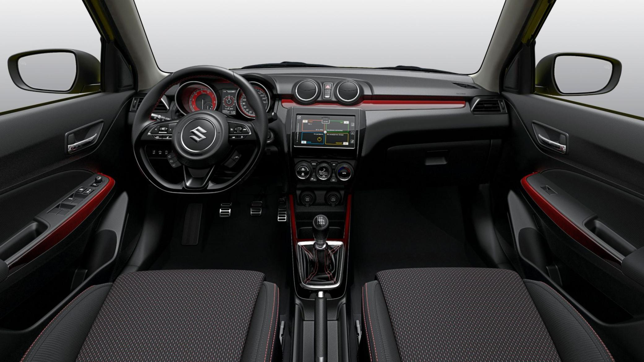 interieur Swift Sport